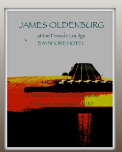 Join us for the smooth sounds of James Oldenburg